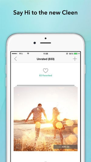 Clean iOS picture gallery