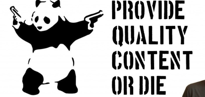 Create Quality Content or Die