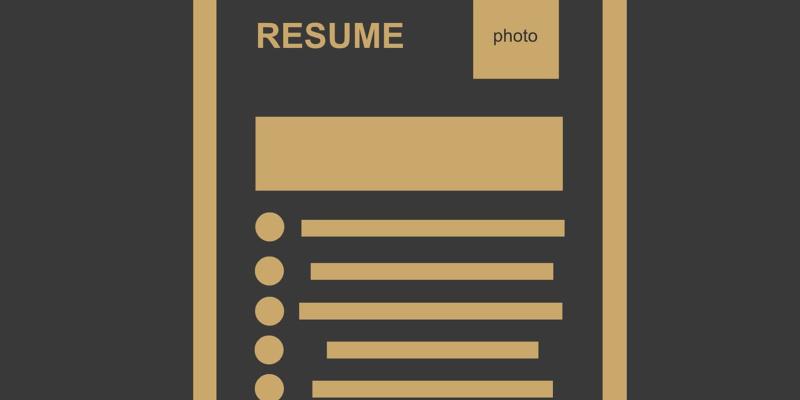 Write good resume 2019