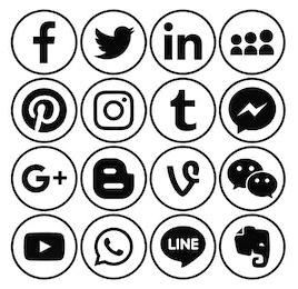 Pros of web design icons 2019