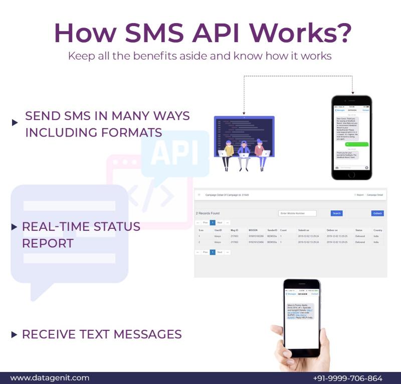 How SMS API works