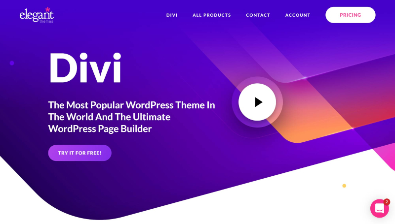 Divi wp builder