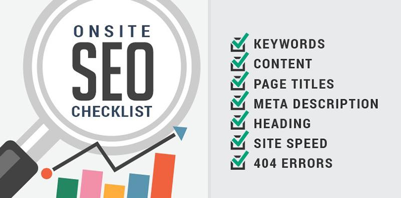 Onsite SEO Checklist