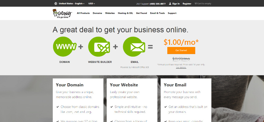 Godaddy - Website Builder