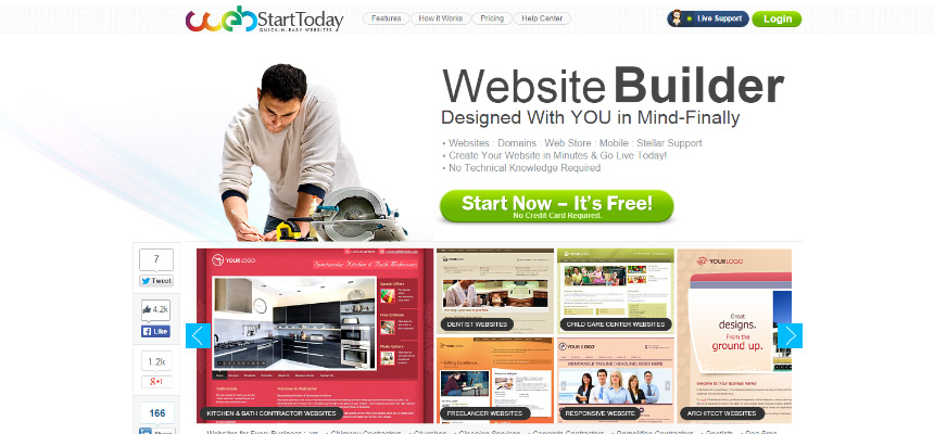 Web Start Today