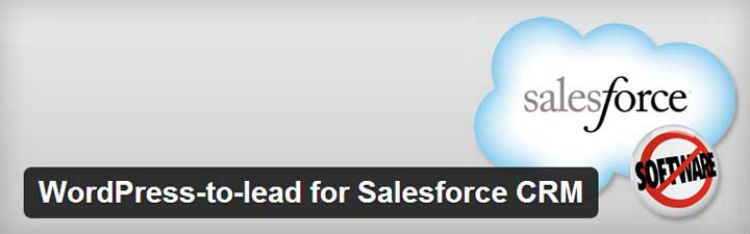 WordPress-to-lead for Salesforce CRM