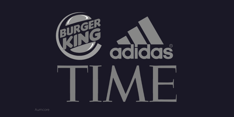 Burger King, Time, Adidas