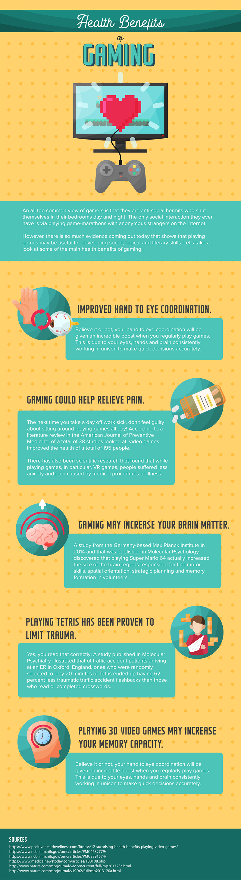 Health benefits of gaming