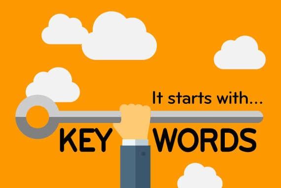 Keywords are the key SEO