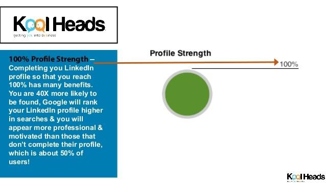 LinkedIn's profile