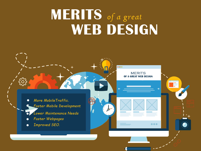 Merits of a great Web Design