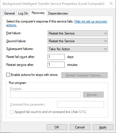 How to clean Windows 10 of network activity