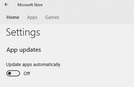 Disable Automatic Updates Windows