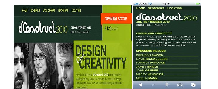 dConstruct - Responsive Web Design