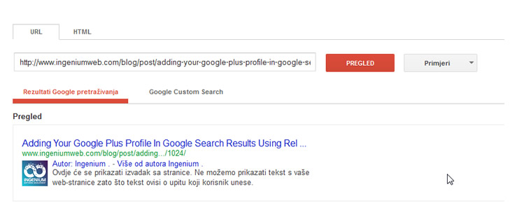 Adding Your Google Plus Page In Google Search Results Using Rel=Publisher