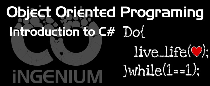 ASP.NET: Object Oriented Programing - Introduction to C#
