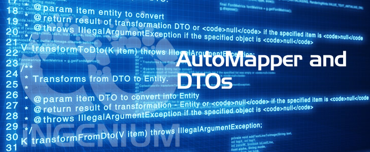 AutoMapper and DTOs