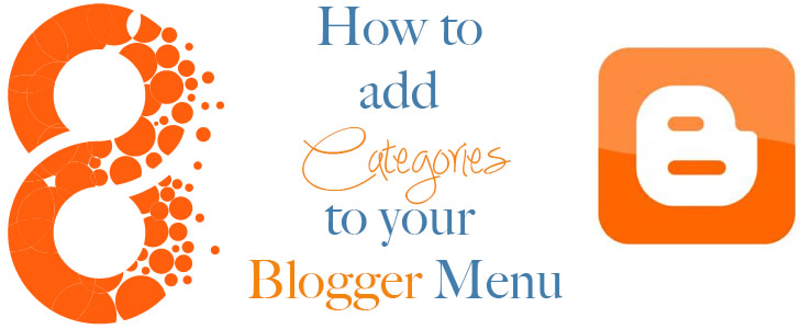 Blogger - Adding categories