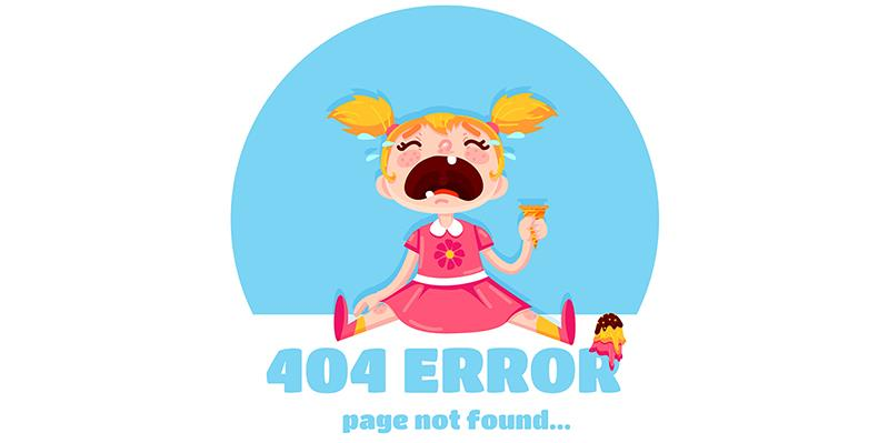 Error 404 Page –Tips on How to Turn it into an Opportunity