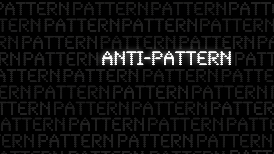 Five anti-patterns web designers should avoid