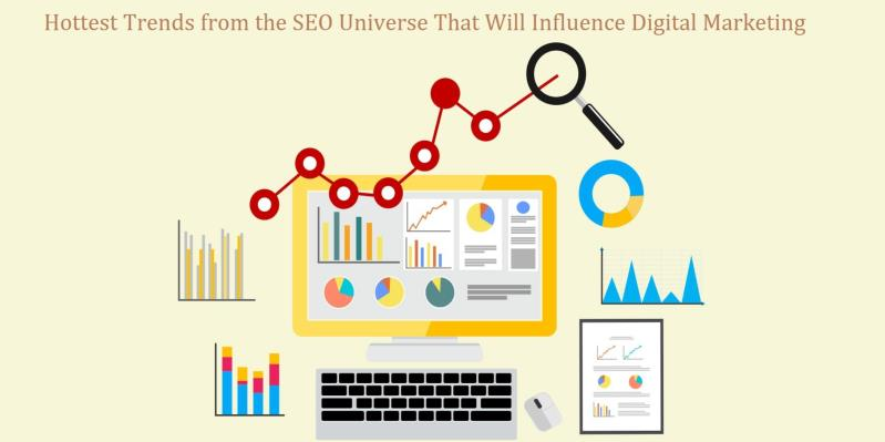 Hottest Trends from the SEO Universe That Will Influence Digital Marketing