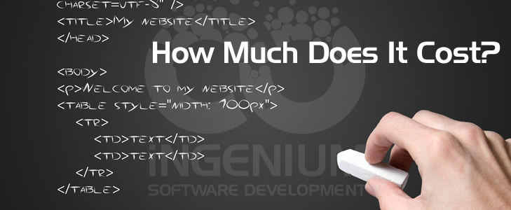 How Much Web Site Design, Development, and Hosting Costs?