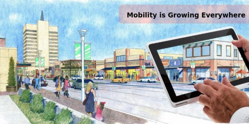 Increase in urban population only reason behind mobility's massive growth?