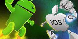 Android vs. iOS: The updated GUI comparison of Two Tech Giants