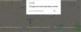 Google Maps – Development Purposes help ?
