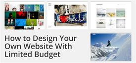 How to Design Your Own Website With Limited Budget